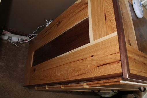 Custom Made Dresser / Bookshelf Set - Hickory / Walnut