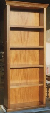 Custom Made Free Standing Bookshelf