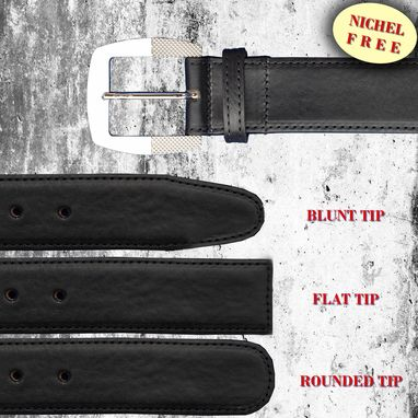 Custom Made Elegant Italian Leather Belt. Exclusive Belt Buckle Design. Vegetable Tanned Vachetta Leather