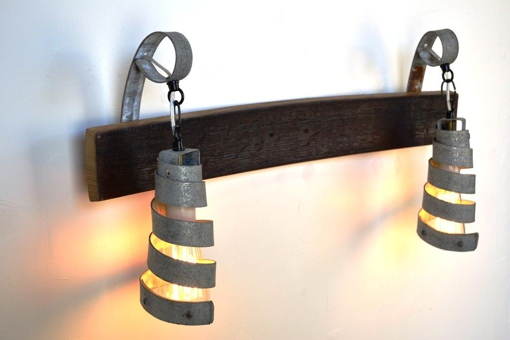 Buy a Hand Crafted Corba - Elan - Barrel Ring Vanity Light, made to ...