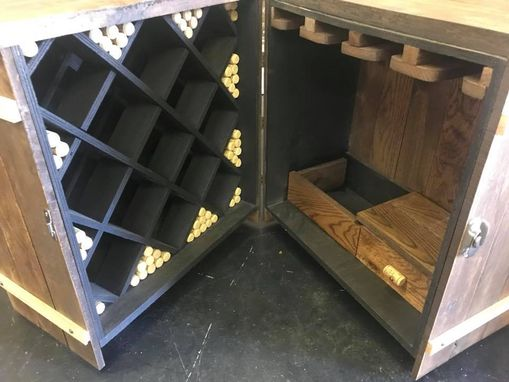 Custom Made Wine Crate Table