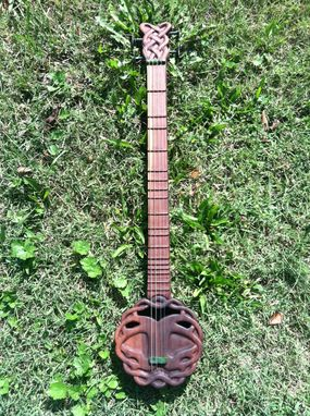 Custom Made Tree Of Life Loveatar (Dulcimer Style Instrument)