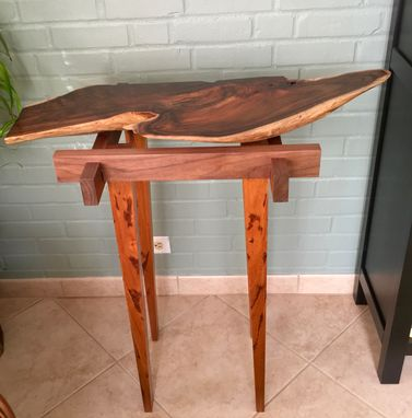 Custom Made Hawaiian Koa Live Edge Table