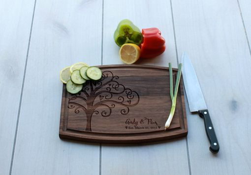 Custom Made Personalized Cutting Board, Engraved Cutting Board, Custom Wedding Gift – Cba-Wal-Andy Pam