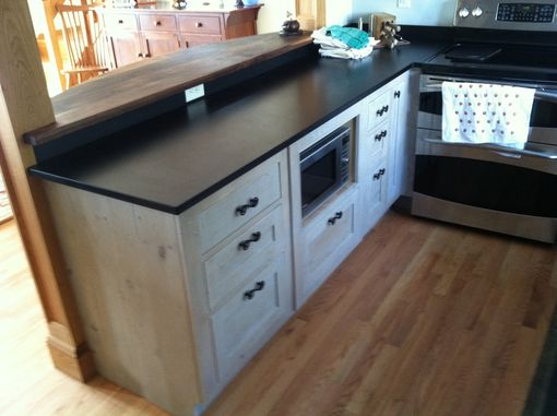 Custom Made Reclaimed Kitchen Cabinets