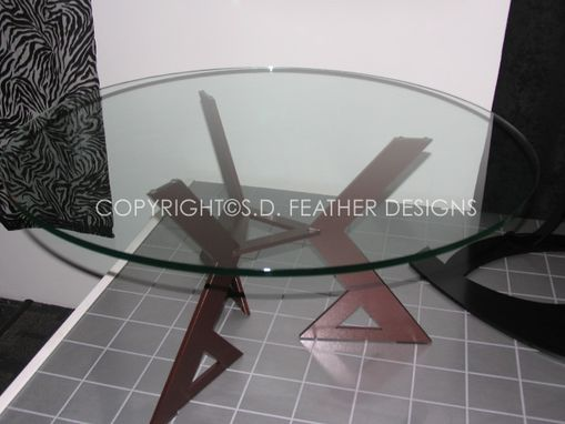 Custom Made Wedge Coffee Table
