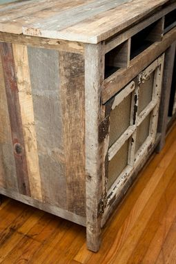 Custom Made Barnwood Entertainment Center (Lecoultre Collection)