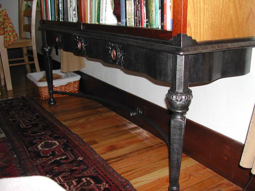Custom Made Wrought Iron Bookshelf Stand