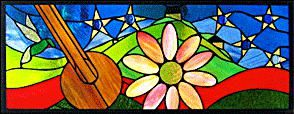 Custom Made Memorial Stained Glass Window