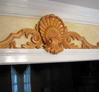Custom Made Hand Carved Capitals