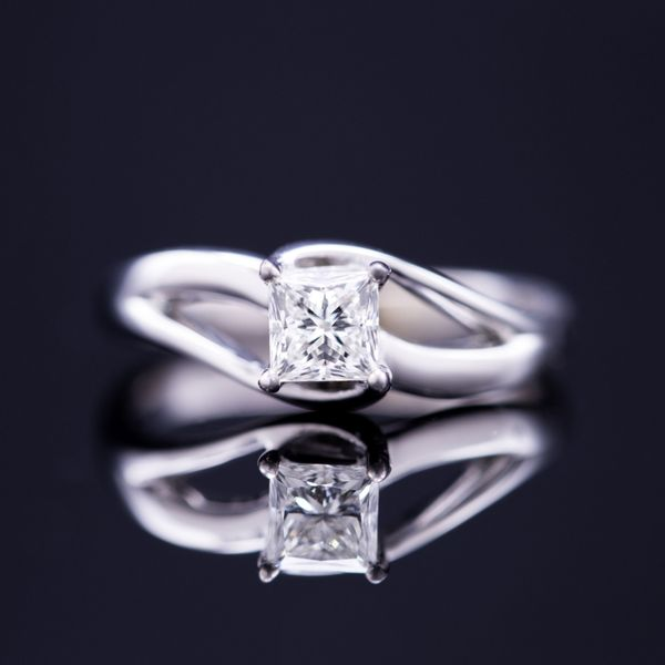 0.51ct Princess Cut Diamond