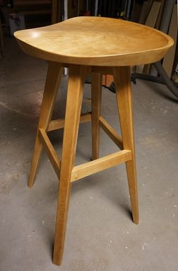 Custom Made Tractor Seat Stools With Swiveling Seats