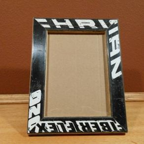 hockey stick picture frame by charlie gunderson
