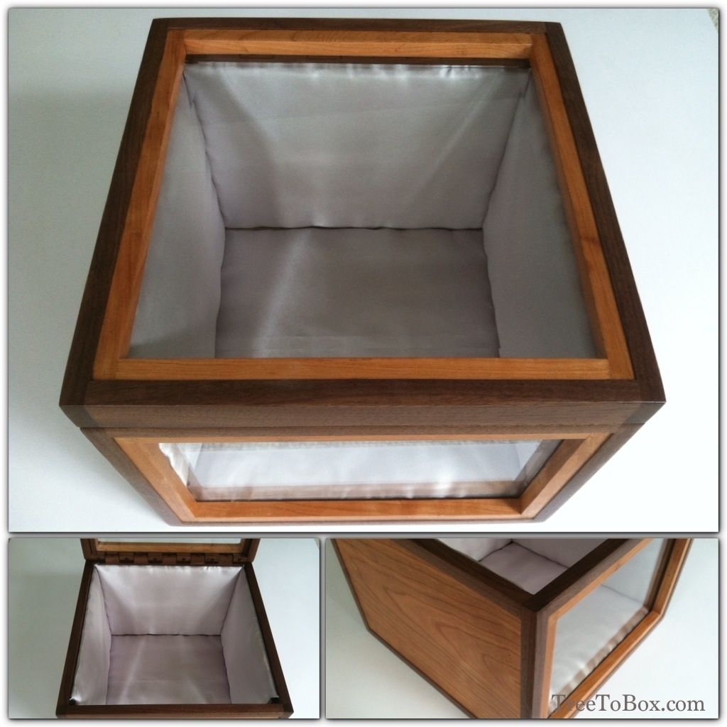 Hand Crafted Custom Made Military Hat Boxes by Wood