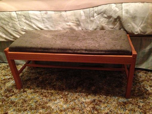 Custom Made Bedroom Bench