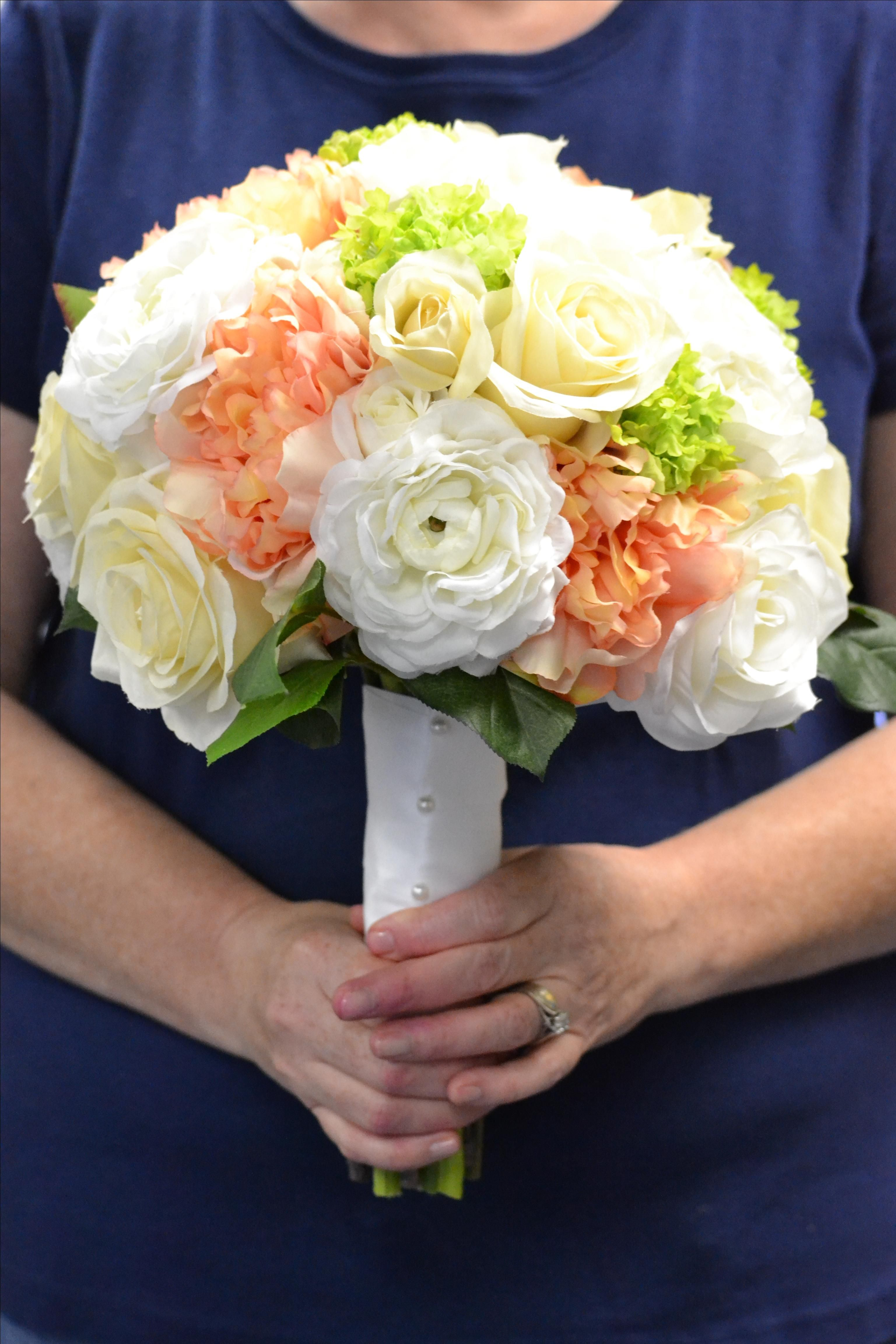 Custom bridal bouquet replica by duchess florals custommade izmirmasajfo Gallery