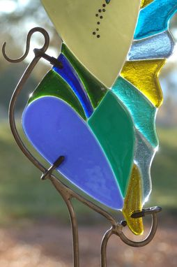 "Custom Made ""Feng Shui Goddess""  - Health & Family - Fused Glass Sculpture"