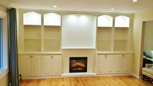 Custom Made Custom Wall Units And Built In