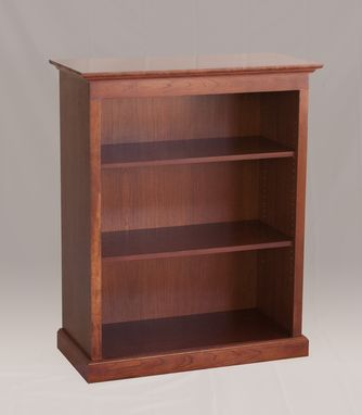 Custom Made Traditional Cherry Bookcase