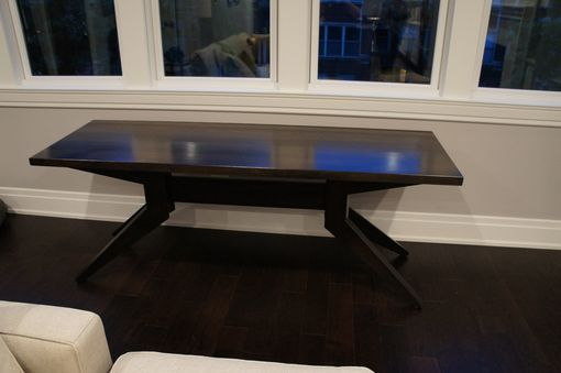 Custom Made Custom Modern Dining/Sofa Table