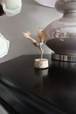 Custom Made Handcrafted Sculpture - Beautiful Desk Art