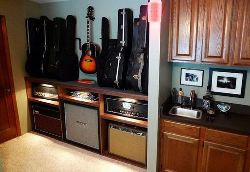 Custom Made Custom Guitar Cabinet
