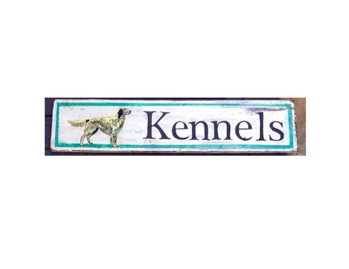 Custom Made Kennels Sign, Any Breed You'd Like