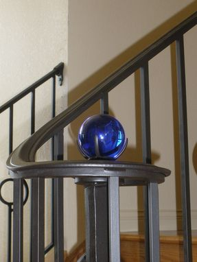 Custom Made Peacock Feather Balcony & Staircase Railing