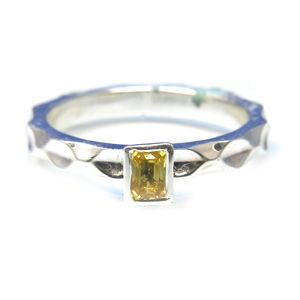 Custom Made Custom™ Collection Yellow Sapphire Stackable