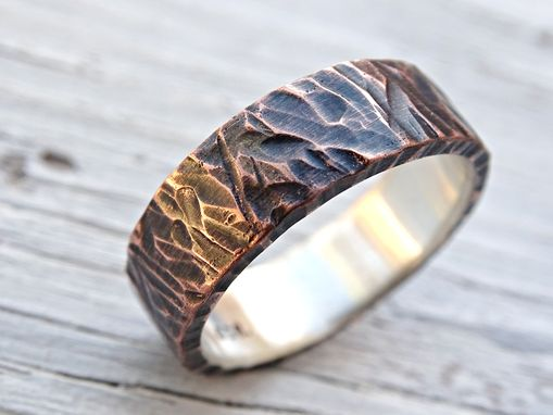 Buy A Custom Made Viking Wedding Band Mens Promise Ring