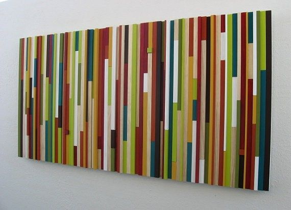 Buy A Custom Modern Wood Wall Sculpture Made To Order From Modern