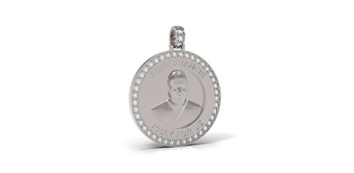 Custom Made Pope Francis Pendant
