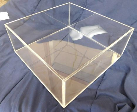 Custom Made Acrylic Cake Stand - Many Styles And Sizes Available - Hand Crafted Custom Built