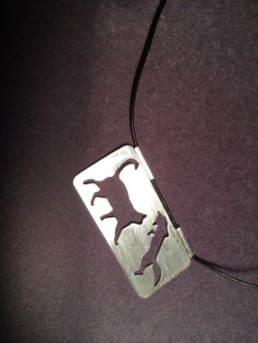 Custom Made Cat And Fox Pendant