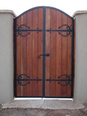 Custom Made Outdoor Gates