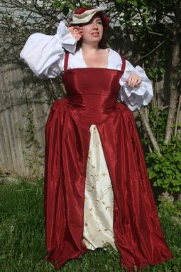 Custom Made Tudor Gown