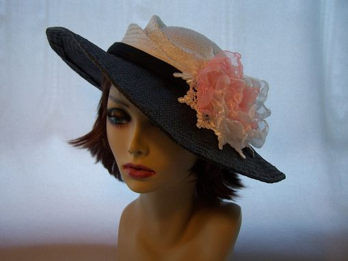 Custom Made Straw Derby Hat/Sunhat