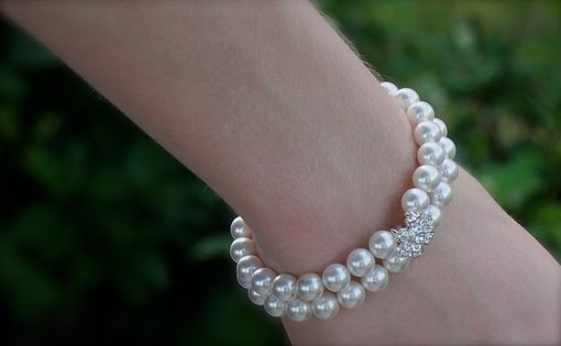 Custom Made Wedding Bracelet, Brides Bracelet, Bridesmaids Bracelet, Bridal Bracelet