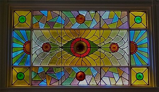 Custom Made Library Stained Glass Repair