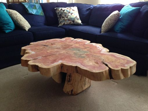 Custom Made Red Cedar Table