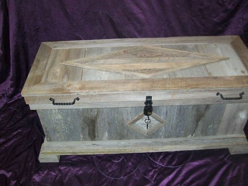 Custom Made Barnwood Hope Chest