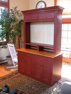 Custom Made Custom Shaker Style Entertainment Center
