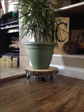 Custom Made Mobile Plant Stand