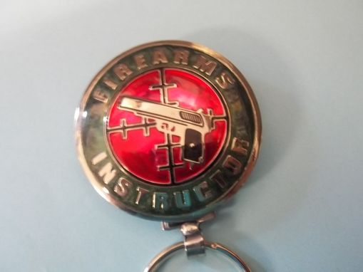 Custom Made Firearms Inspector Key Ring