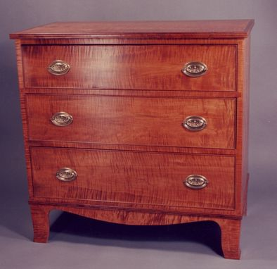 Custom Made New England Three-Drawer Chest