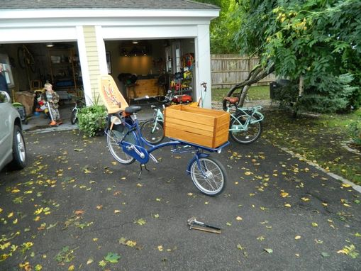 Custom Made Bicycle Cargo Box