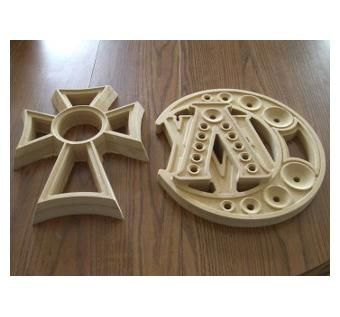 Custom Made Custom Cnc Carved Emblems