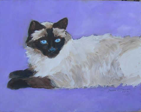 Custom Made Custom Cat Painting Of Hiroki