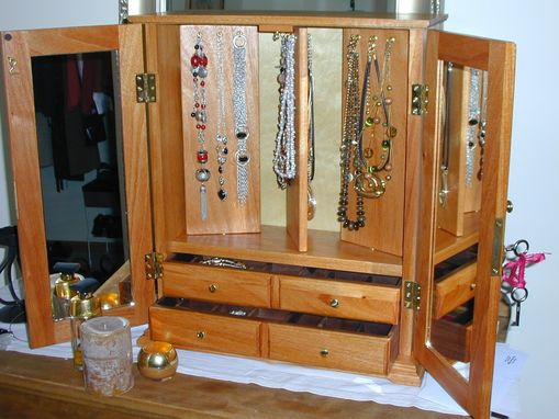 Custom Made Jewelry Cabinets