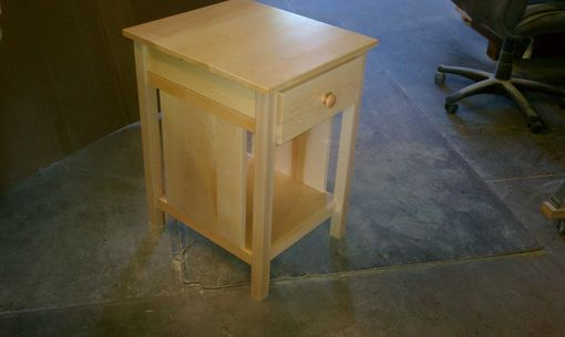 Custom Made 1 Drawer Open Base Night Stand